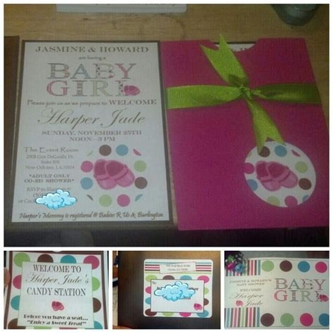 baby shower invitation and game booklet younique accents