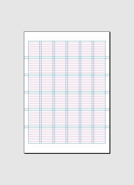 indesign grid template 17 best images about grids on typography