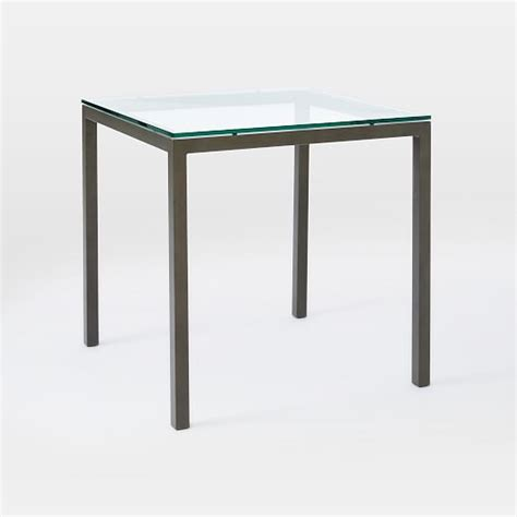 square glass dining tables box frame square dining table glass west elm