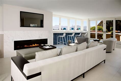 Modern Sophisticated Lounge Interior Design of Peter Thiel