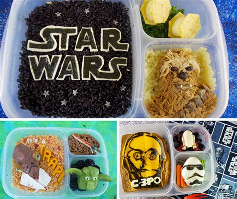 Wars Simple Lunch Box Black geeky bento lunch box 10 geekiest bento boxes bento boxes