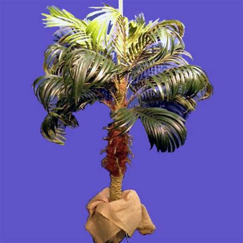 centerpiece palm tree   tabletop rentals naples fl   rent centerpiece palm tree