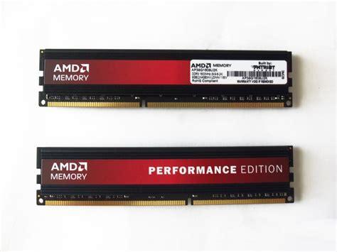 amd ddr3 ram amd performance edition 1600 mhz ddr3 2x4gb memory kit