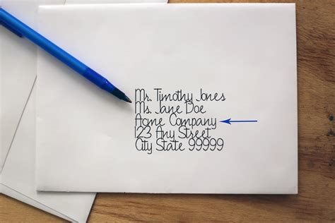 Business Letter Address Etiquette proper mailing address etiquette our everyday