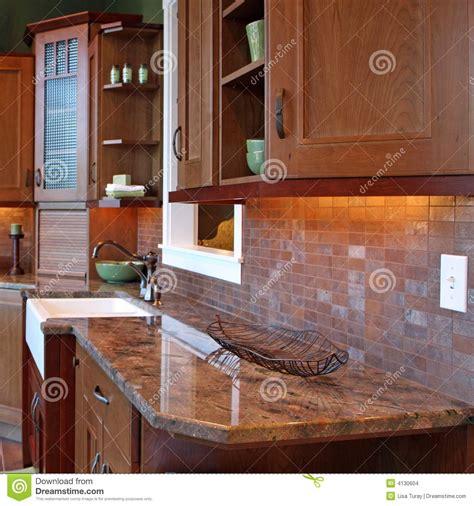 granite countertop stock images image 4130604