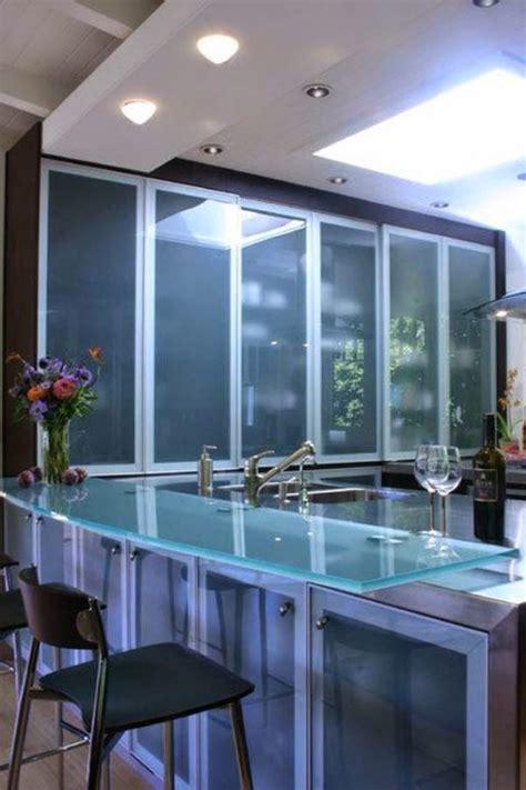 imagenes impactantes de modernos  elegantes muebles de cocina de vidrio  nunca podras