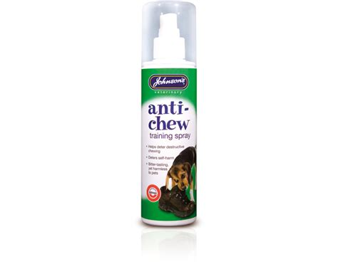 anti chew spray for dogs johnsons anti chew spray pet stuff galore