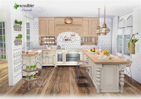 hacienda kitchen design hacienda kitchen at simcredible designs 4 187 sims 4 updates
