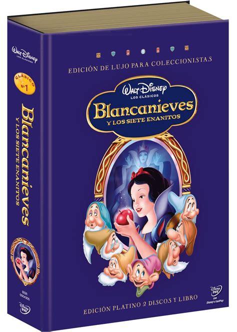 blancanieves y los siete enanitos edici 243 n platino libro dvd tusprincesasdisney com