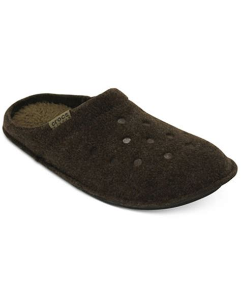 macy slippers crocs s classic slippers all s shoes macy s