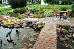 natural backyard design ideas with pond home decorating