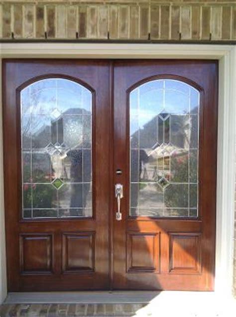 Front Door Refinishing Front Door Repair Houston