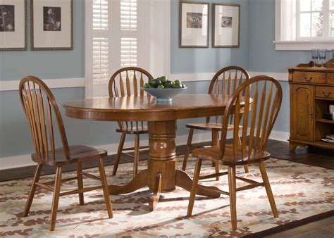 Oval Dining Room Sets Nostalgia Oval Dining Room Set From Liberty 10 P520 Coleman Furniture