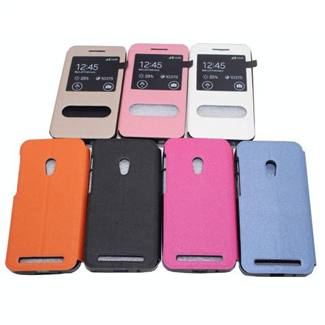 Taff Leather Flip For Asus Zenfone 4s taff leather flip window for asus zenfone 4s