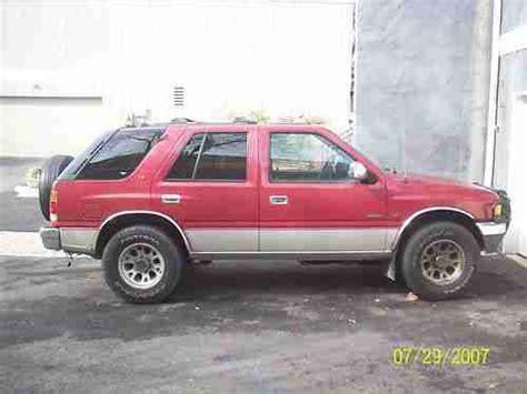 1995 Isuzu Rodeo Fuel Buy Used 1995 Isuzu Rodeo V6 Ls 4 X 4 In Reston Virginia