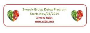 Detox Program Bring A Friend by Fall Detox With Ximena Rojas Yogidennis
