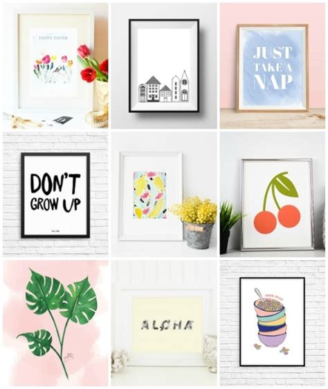how to design printable wall art 12 free printable pieces of wall art curbly