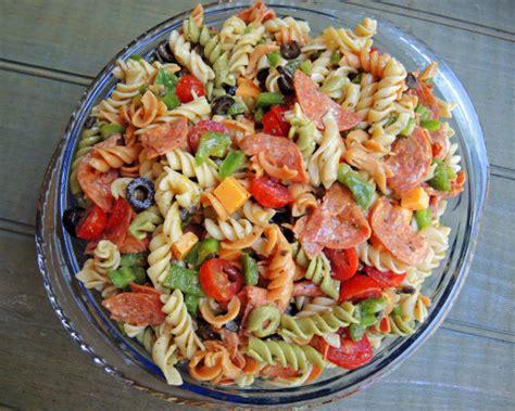 pasta salad dressing recipe perfect pasta salad recipe genius kitchen