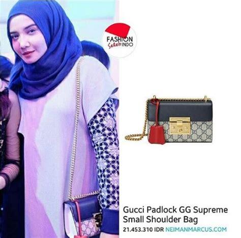 Harga Gucci Padlock tas zaskia sungkar kembali curi perhatian netizen