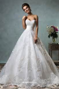 strapless sweetheart neckline vintage ball gown