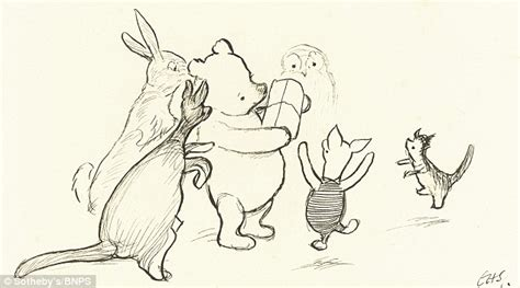 Sketches H by Charming Sketches Of Winnie The Pooh Tipped To