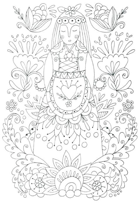 Frida Kahlo Coloring Pages Pdf