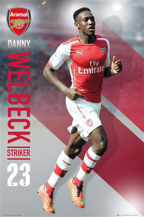 Poster Football Arsenal Fa15 arsenal fc welbeck 14 15 poster sold at abposters