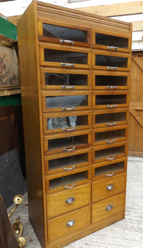 Haberdashery Drawers by Haberdashery Cupboard In Golden Oak Dating From 1920 S