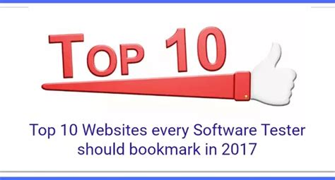 Top 10 Best Websites Out There by What Is The Best Website To Learn Software Testing Quora