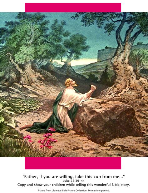 Garden Of Bible Bible Story Pictures Jesus In The Garden Of Gethsemane