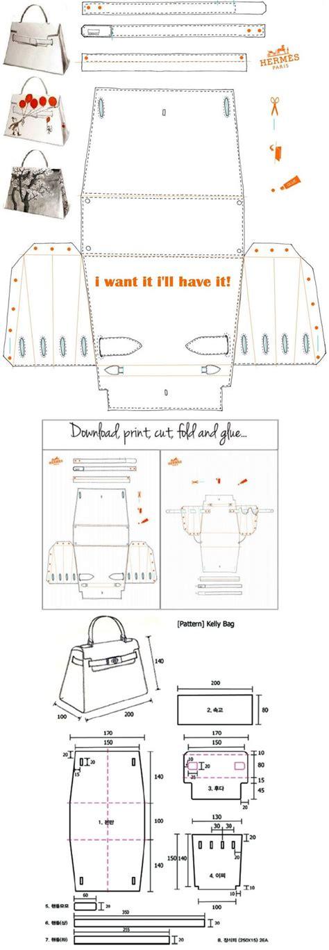 origami paper bag pattern 165 best images about borse tutorial on pinterest fai da