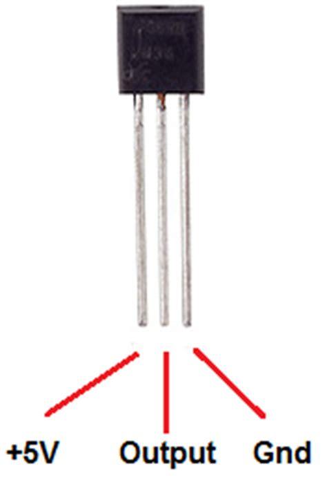 build  lm temperature sensor circuit