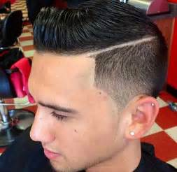hair part with a line the best receding hairline haircuts for