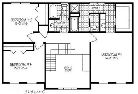 2 story floor plans open t247633 1 by hallmark homes two story floorplan