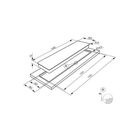 piano cottura a filo piano cottura smeg pgf64 4 acciaio inox a semifilo 60 cm smeg