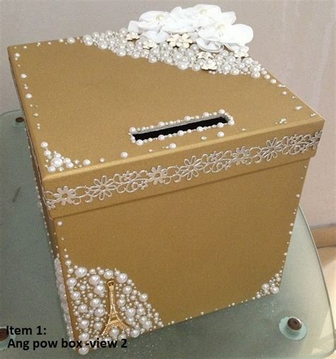 Wedding Box Singapore by Wedding Items For Sale Ang Pow Box Evening Gown Etc