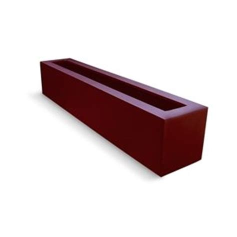 narrow window box planter fiberglass planters salons and planters on