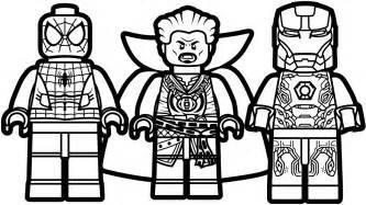 lego spiderman vs lego iron man vs lego doctor strange