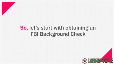 Where To Get A Background Check 5 Steps To Get Your Fbi Background Check Apostille For Use