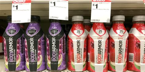 body armor sports drinks  shopriteliving rich  coupons