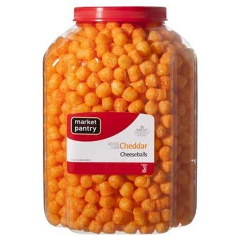 Market Pantry Cheese Balls by Market Pantry 174 Cheddar Cheese Balls 22 Oz Pillow