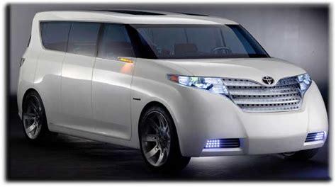 Minivan Toyota Toyota F3r Concept Car Minivan