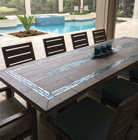 ceramic tile table top best 25 mosaic table tops ideas on mosaic