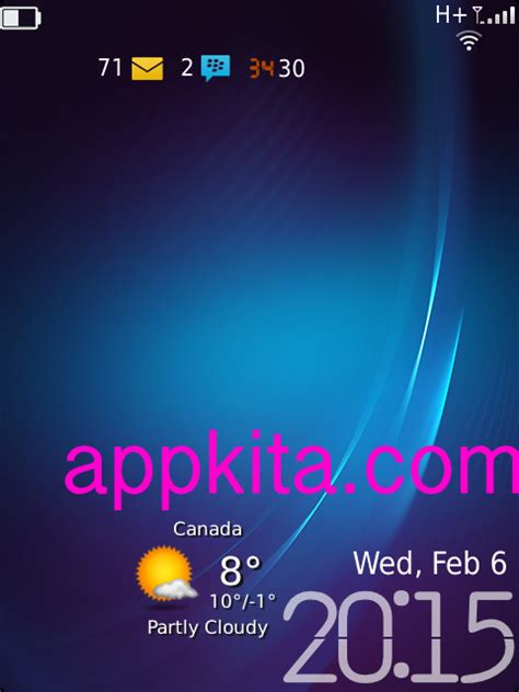 blackberry os 6 themes simple clean theme with blackberry 10 icons 9650 9700 9780