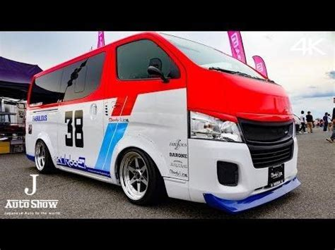 nissan urvan modified 4k bodyline nissan caravan urvan nv350 ボディライン日産キャラバンカスタム