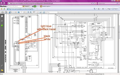kitchenaid refrigerator wiring diagram kitchenaid refrigerator model ksrs25rswh400 disconnected