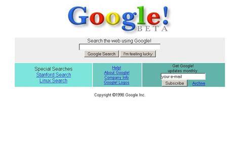 google images looks different google com 1997 2011