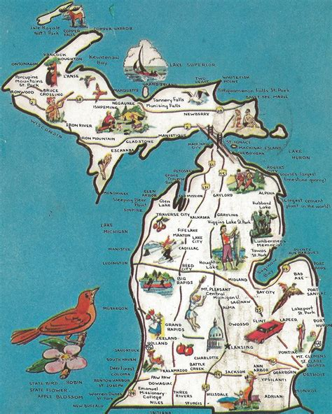 Michigan The 26th State by Discover The Blue Ten Facts For Michigan S 180th Birthday