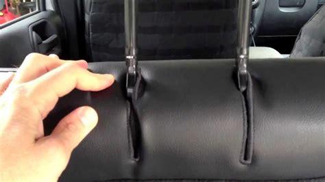 jeep jk unlimited rear seats trek armor rear seat cover install on a 2013 jeep wrangler