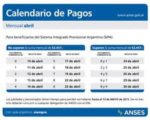 Calendario De Pagos Anses Anses Calendario De Pagos Review Ebooks
